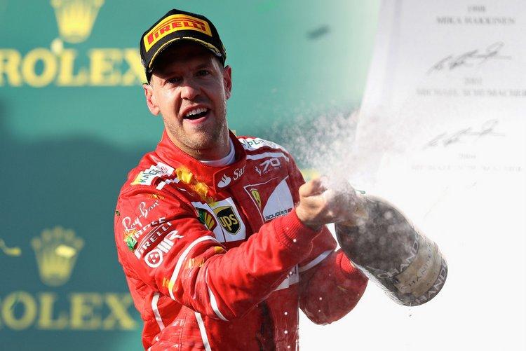Sebastian Vettel Australian Grand Prix winner