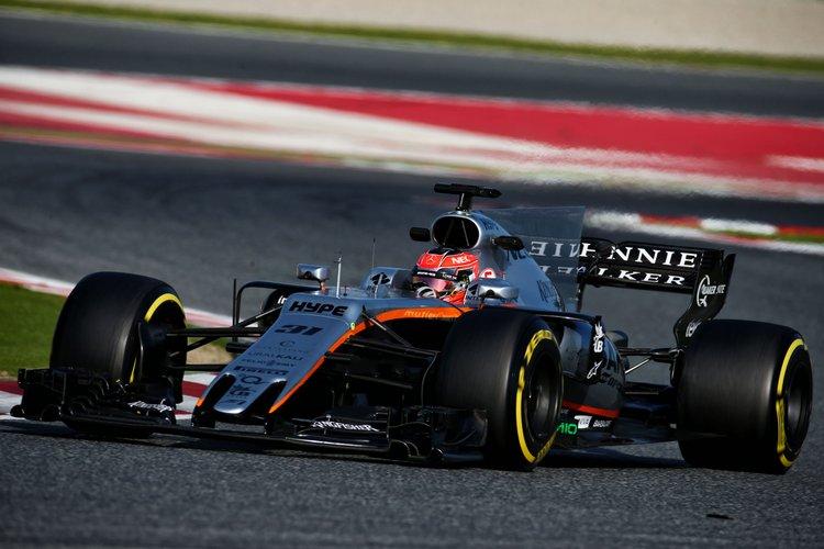 Esteban Ocon (FRA) Sahara Force India F1 VJM10.Formula One Testing, Day 3, Thursday 9th March 2017. Barcelona, Spain.