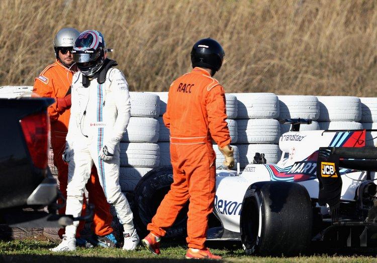 Lance Stroll, crash. testing.