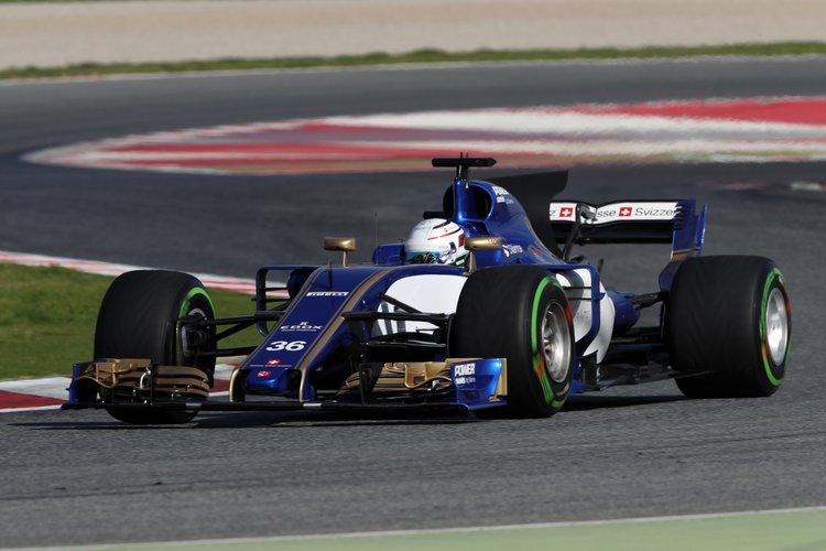 Antonio Giovinazzi (ITA), Sauber F1 Team.Circuit de Barcelona-Catalunya.