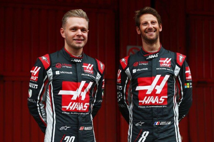 Kevin Magnussen Romain Grsojean
