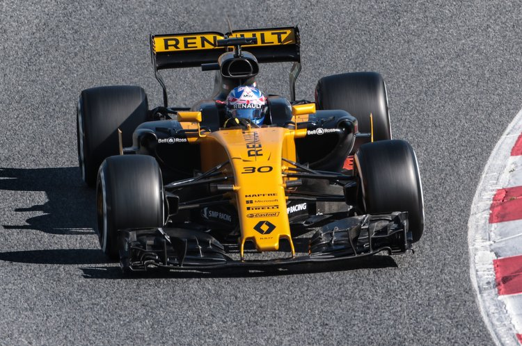 Jolyon Palmer (GBR) Renault Sport F1 Team RS17.Formula One Testing, Day 4, Friday 10th March 2017. Barcelona, Spain.