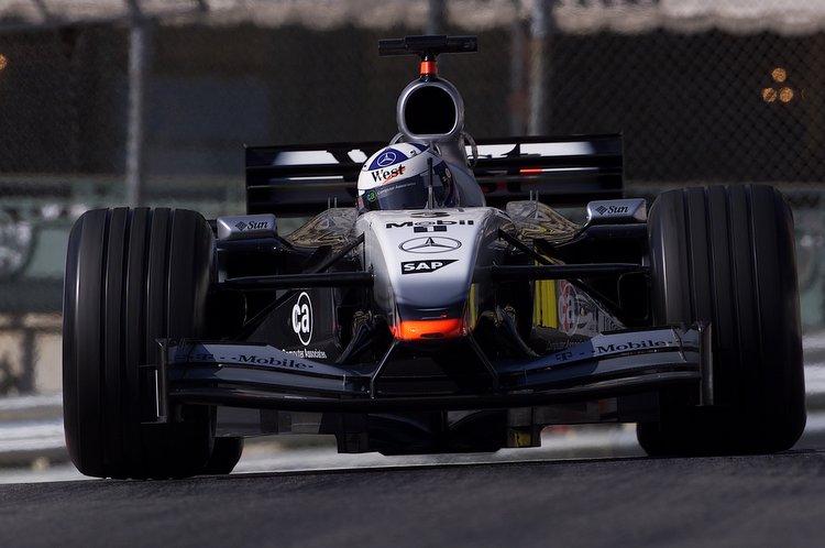 Formel 1, Grand Prix Monaco 2002, Monte Carlo, 26.05.2002 David Coulthard, McLaren-Mercedes MP4-17