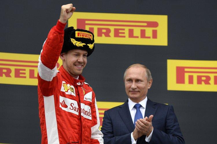 Sebastian Vettel, Putin