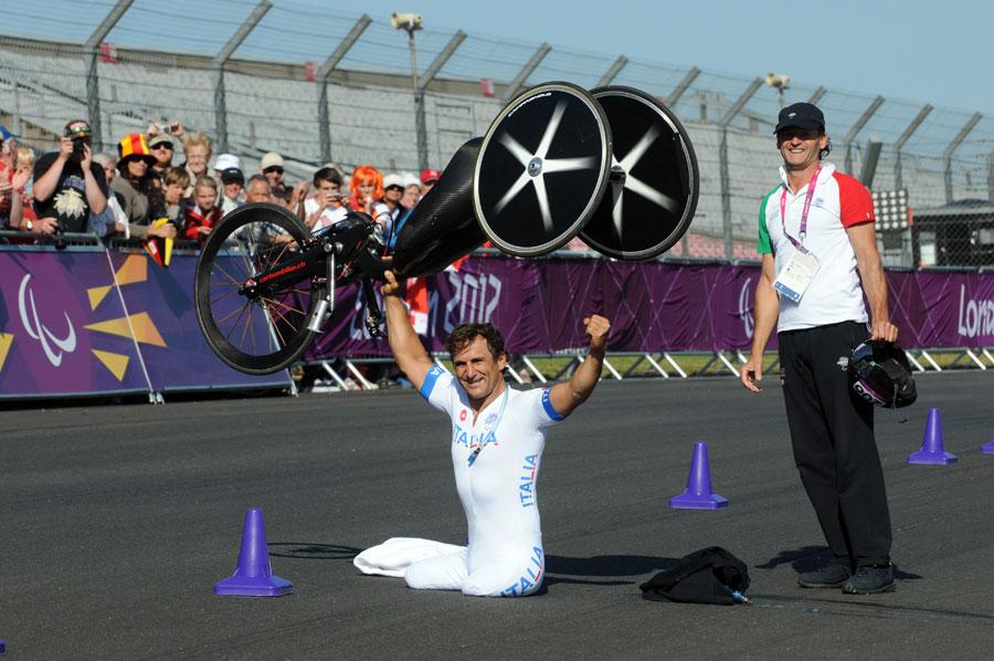 Alex Zanardi, olympics