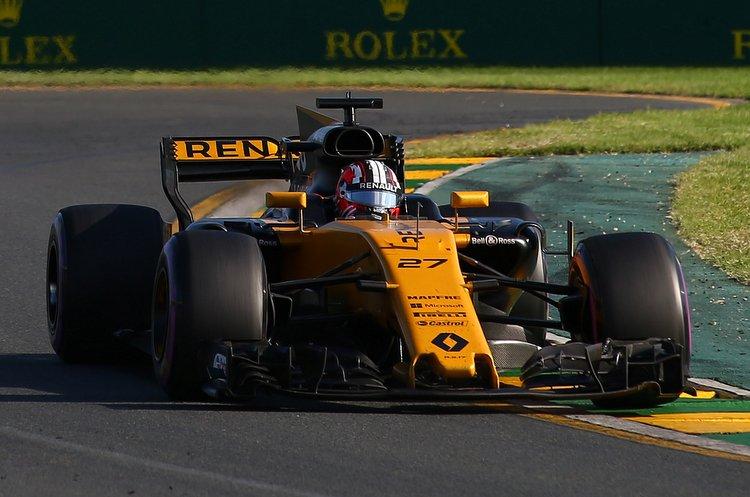 Nico Hulkenberg (GER) Renault Sport F1 Team RS17.Australian Grand Prix, Sunday 26th March 2017. Albert Park, Melbourne, Australia.