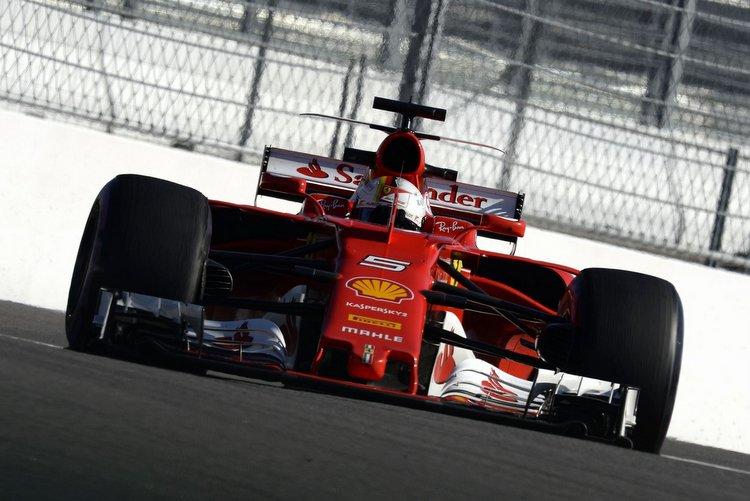 Sebastian Vettel, pole position