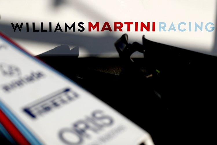 Albert Park, Melbourne, Australia. Saturday 25 March 2017. Williams Martini Racing logo. Photo: Glenn Dunbar/Williams ref: Digital Image _X4I1250