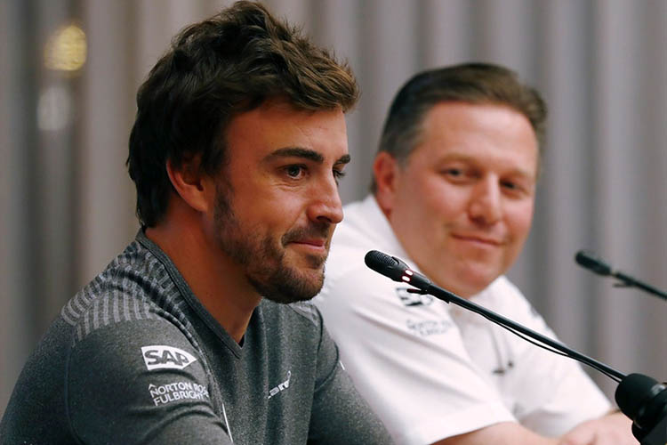Alonso: It's fantastic to
