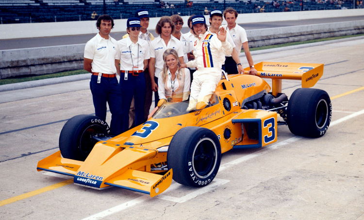 Johnny Rutherford, Indianapolis 500, McLaren