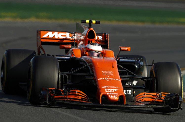 Albert Park, Melbourne, Australia.Sunday 26 March 2017.Stoffel Vandoorne, McLaren MCL32 Honda.World Copyright: Glenn Dunbar/McLaren.Ref: Digital Image _31I2646