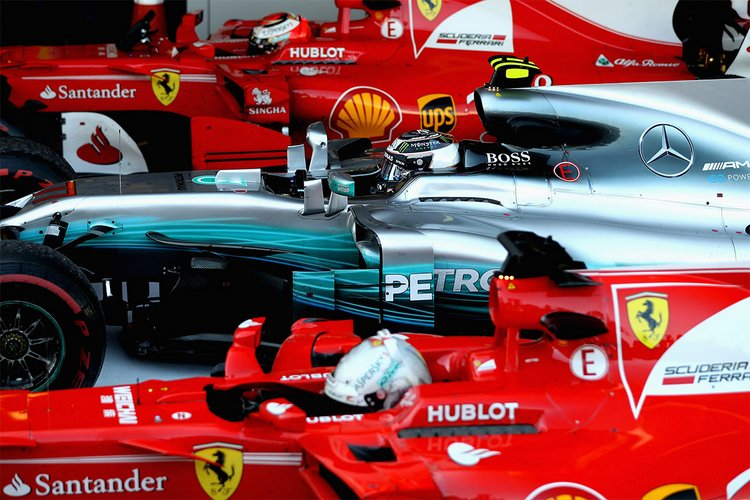 Valtteri Bottas, Mercedes, Ferrari