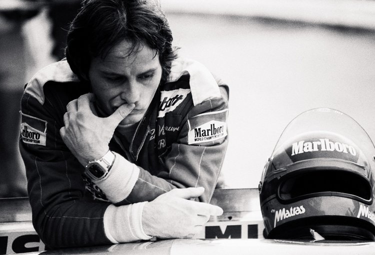 Gilles Villeneuve (CDN) Ferrari, retired from the race on lap 56 with an oil leak.South African Grand Prix, Rd 3, Kyalami, South Africa, 4 March 1978.