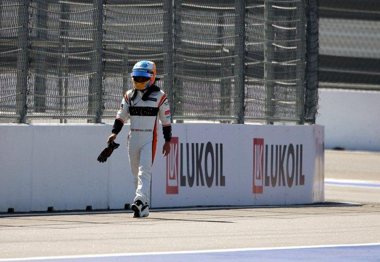Russian Grand Prix Race