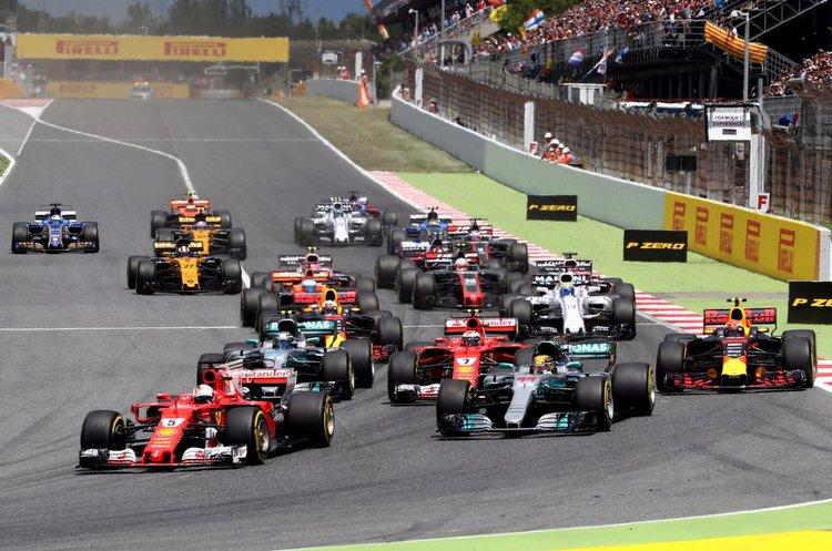 Spanish Grand Prix start
