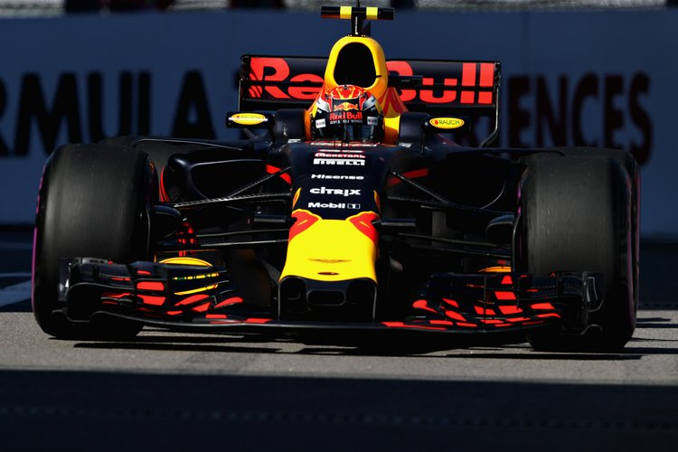 SOCHI, RUSSIA - APRIL 29: Max Verstappen of the Netherlands driving the (33) Red Bull Racing Red Bull-TAG Heuer RB13 TAG Heuer on track during qualifying for the Formula One Grand Prix of Russia on April 29, 2017 in Sochi, Russia. (Photo by Mark Thompson/Getty Images) // Getty Images / Red Bull Content Pool // P-20170429-00569 // Usage for editorial use only // Please go to www.redbullcontentpool.com for further information. //