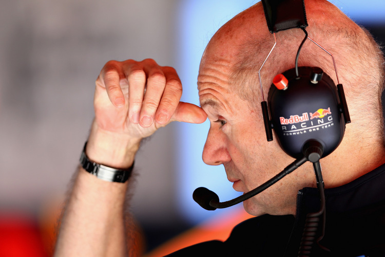 MONTMELO, SPAIN - MAY 12: Adrian Newey, the Chief Technical Officer of Red Bull Racing in the garage during practice for the Spanish Formula One Grand Prix at Circuit de Catalunya on May 12, 2017 in Montmelo, Spain. (Photo by Mark Thompson/Getty Images) // Getty Images / Red Bull Content Pool // P-20170512-00841 // Usage for editorial use only // Please go to www.redbullcontentpool.com for further information. //