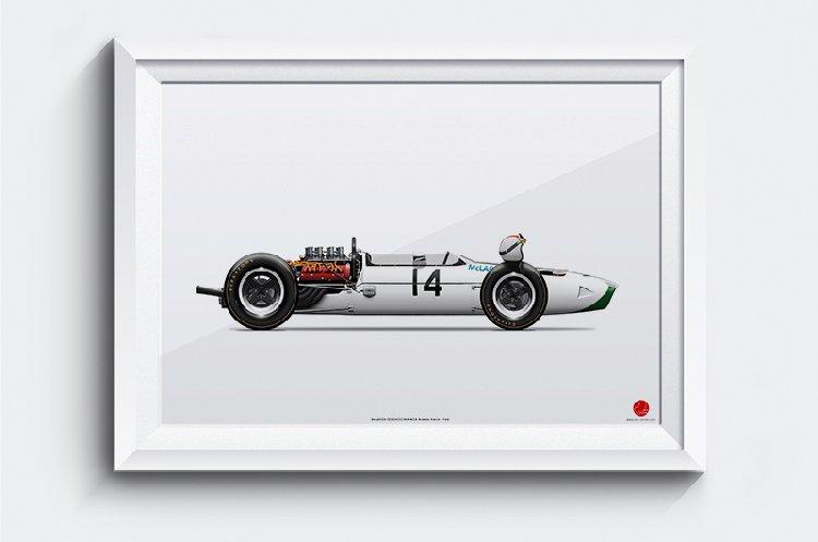The exceptional F1 art of Alex Pieussergues