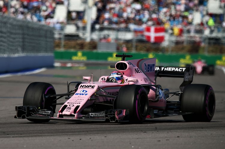 Sergio Perez (MEX) Sahara Force India F1 VJM10.Russian Grand Prix, Sunday 30th April 2017. Sochi Autodrom, Sochi, Russia.