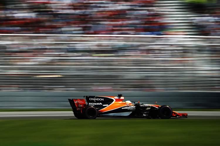 Circuit Gilles Villeneuve, Montreal, Canada.Sunday 11 June 2017.Fernando Alonso, McLaren MCL32 Honda.Photo: Glenn Dunbar/McLarenref: Digital Image _31I7784