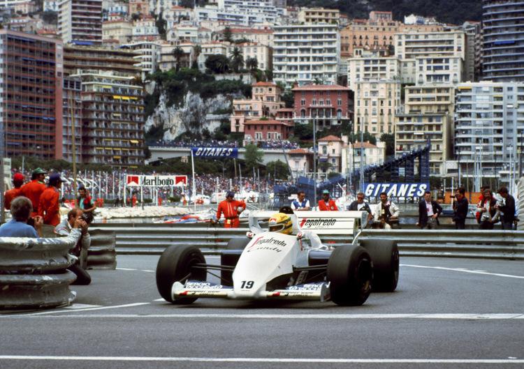 Resultado de imagen de Senna Mónaco GP 1984