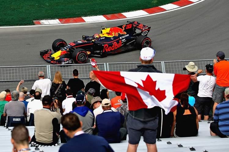 Canada flag fans