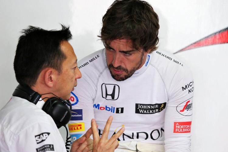 Yusuke Hasegawa. Fernando Alonso