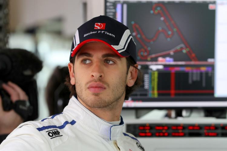 Antonio Giovinazzi (ITA), Sauber F1 Team.Shanghai International Circuit.