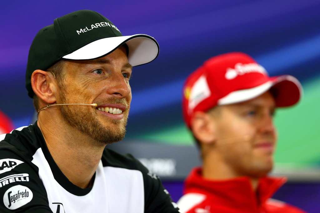 Jenson Button, Sebastian Vettel