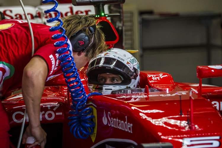 Sebastian Vettel, Pirelli test