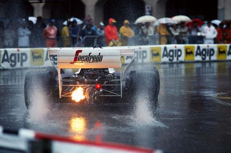 Ayrton Senna (BRA) Toleman TG184, 2nd place. Monaco GP, Monte Carlo, 3 June 1984