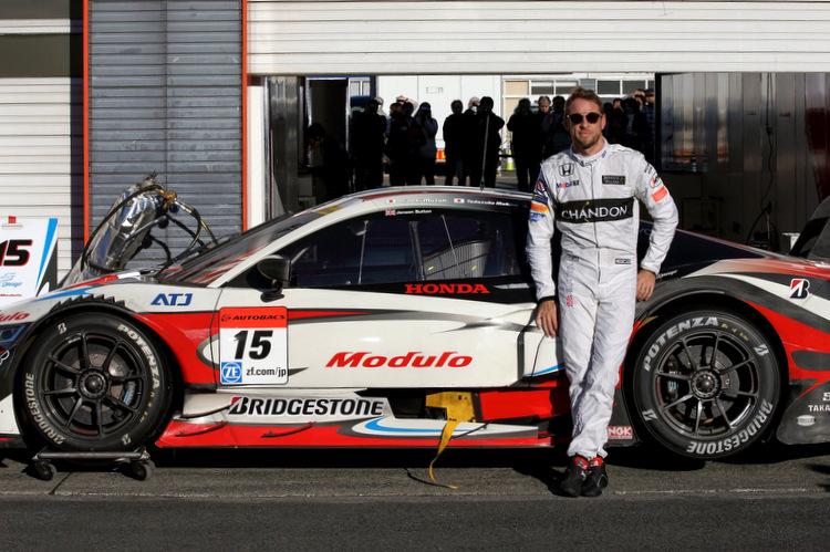 Jenson Button, Honda, Super GT