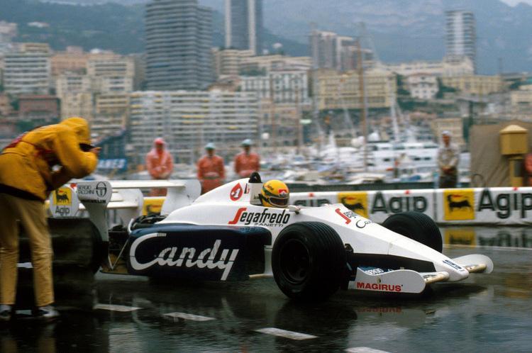 Monaco Grand Prix, Rd6, Monte-Carlo, Monaco, 3 June 1984.