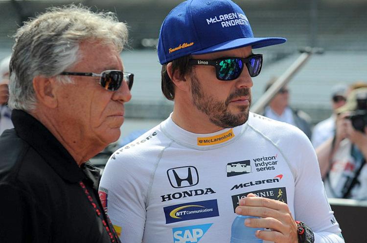 Fernando Alonso, Mario Andretti