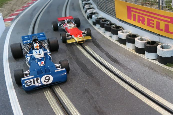 Slot Mods a big hit in the F1 Paddock Club