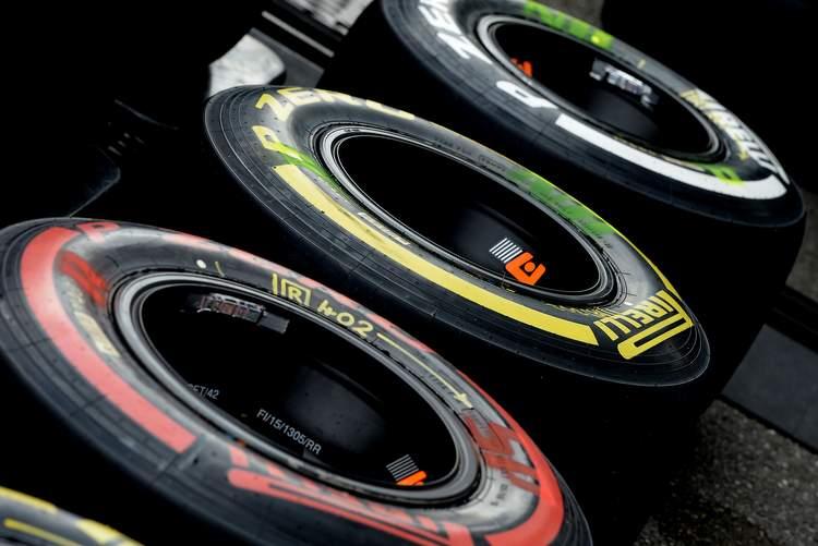 Pirelli tyres F1