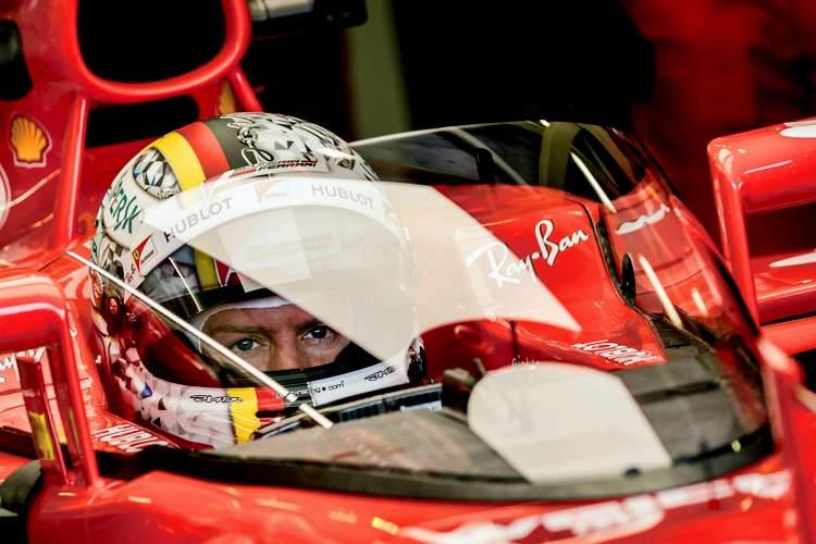 Sebatian Vettel, The shield