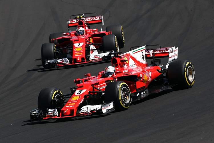 Raikkonen, Vettel