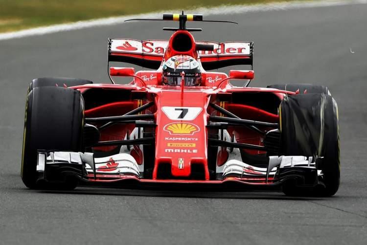 Kimi Raikkonen, puncture