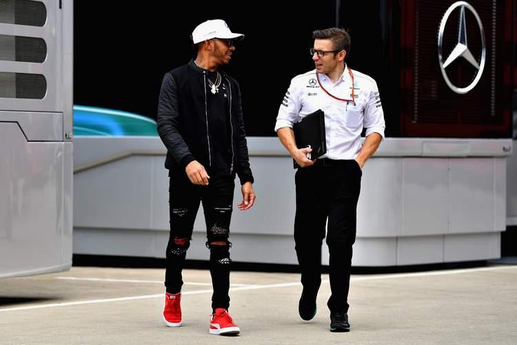 Lewis Hamilton, Peter Bonington