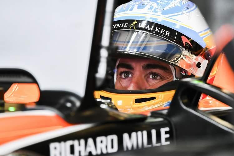 Silverstone, Northamptonshire, UK. Friday 4 March 2016. Fernando Alonso, McLaren. Photo: Sutton/McLaren ref: Digital Image dcd1715jy359