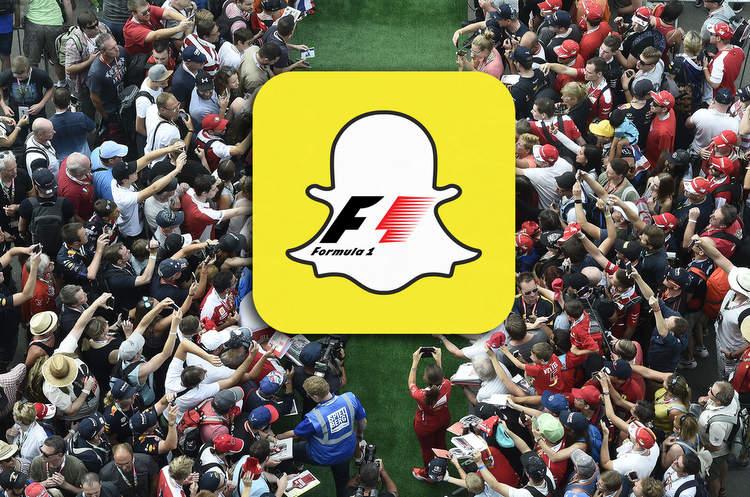 La Fórmula 1 renueva su acuerdo con Snapchat