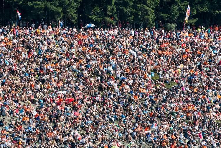 Spa-Francorchamps, fans