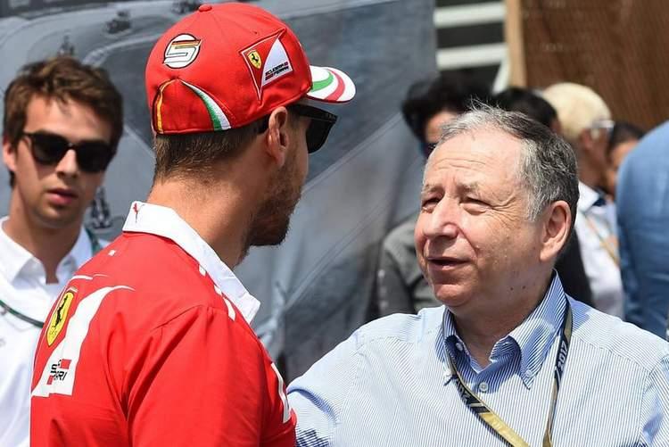 Jean Todt, Sebastian Vettel