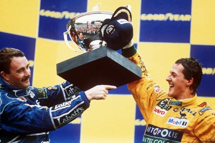 1992 Belgian Grand Prix Schumacher first win 23-Aug-17 4-28-50 PM