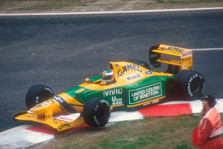 1992 Belgian Grand Prix Schumacher first win 23-Aug-17 4-29-01 PM