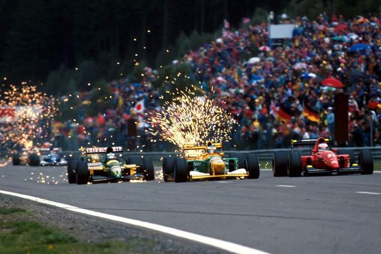1992 Belgian Grand Prix Schumacher first win 23-Aug-17 4-29-12 PM