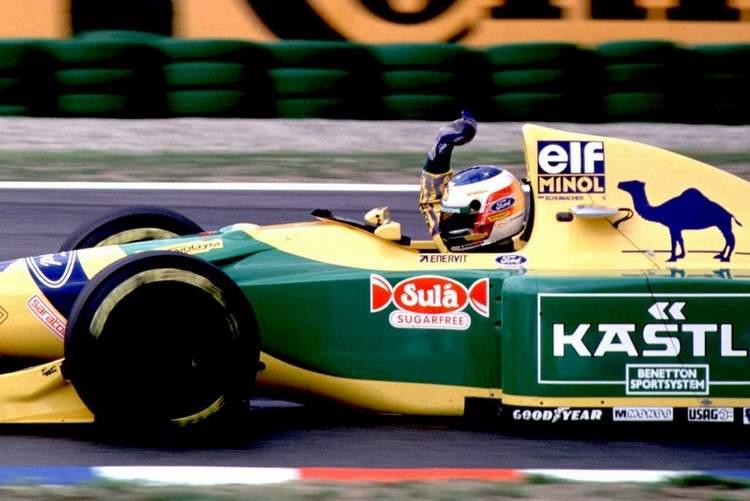 1992 Belgian Grand Prix Schumacher first win 23-Aug-17 4-29-16 PM