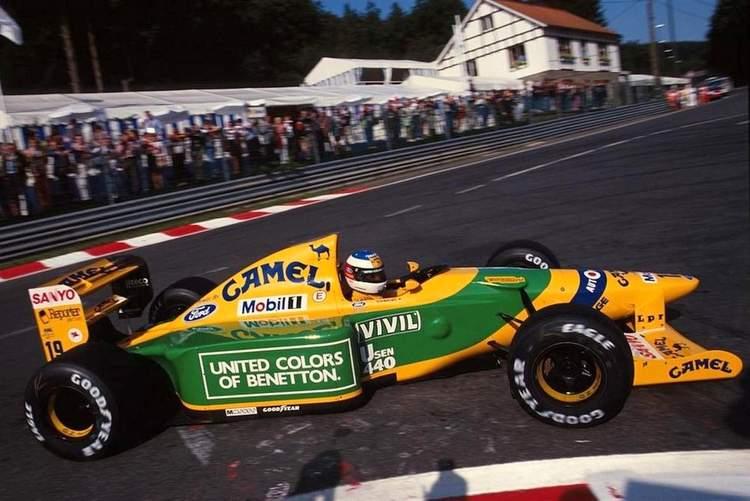 1992 Belgian Grand Prix Schumacher first win 23-Aug-17 4-29-20 PM