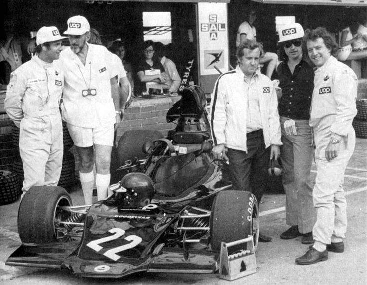 Don Nichols with Peter Revson